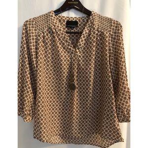 Cynthia Rowley long sleeve blouse